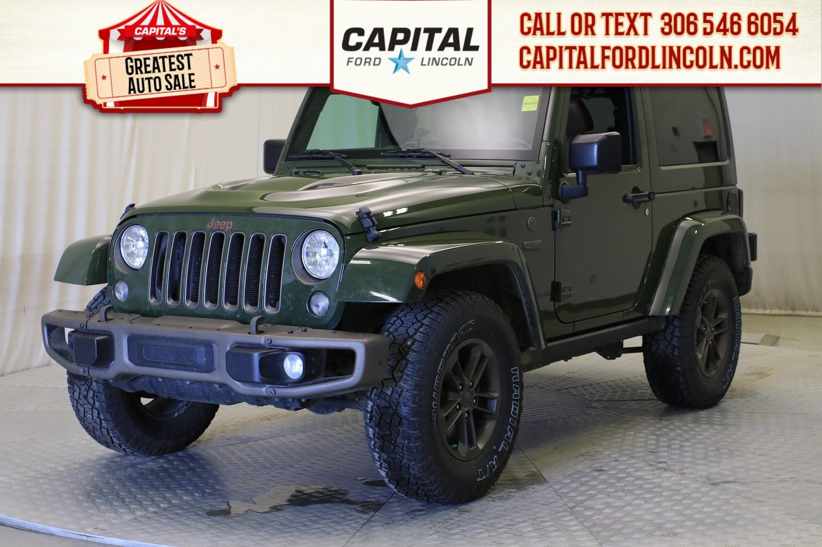 Pre-Owned 2016 Jeep Wrangler Convertible | Leather |