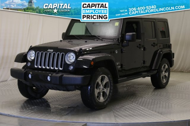 Pre-Owned 2018 Jeep Wrangler JK Unlimited Sahara Convertible **New Arrival**