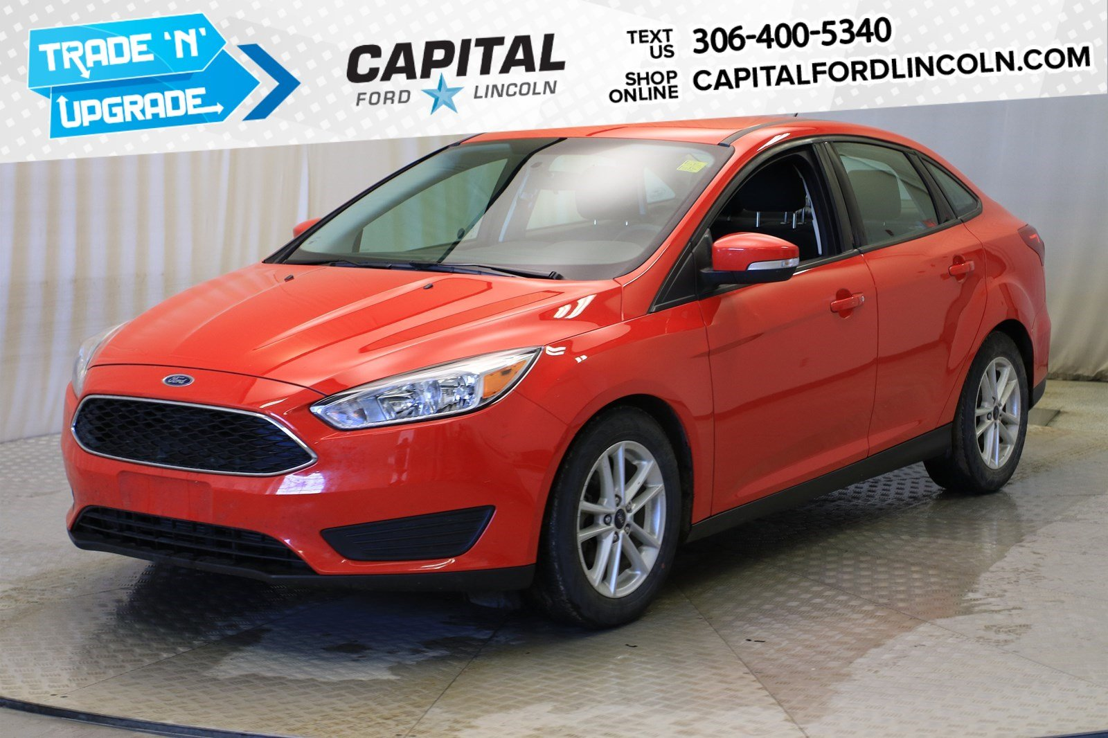 Pre-Owned 2016 Ford Focus SE Sedan
