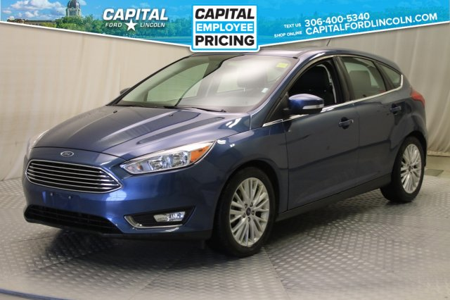 Pre-Owned 2018 Ford Focus Titanium | Leather | Sunroof | Navigation |