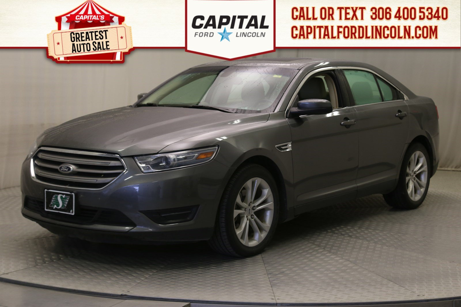 Pre-Owned 2013 Ford Taurus SEL | Leather | Sunroof | Local Trade |