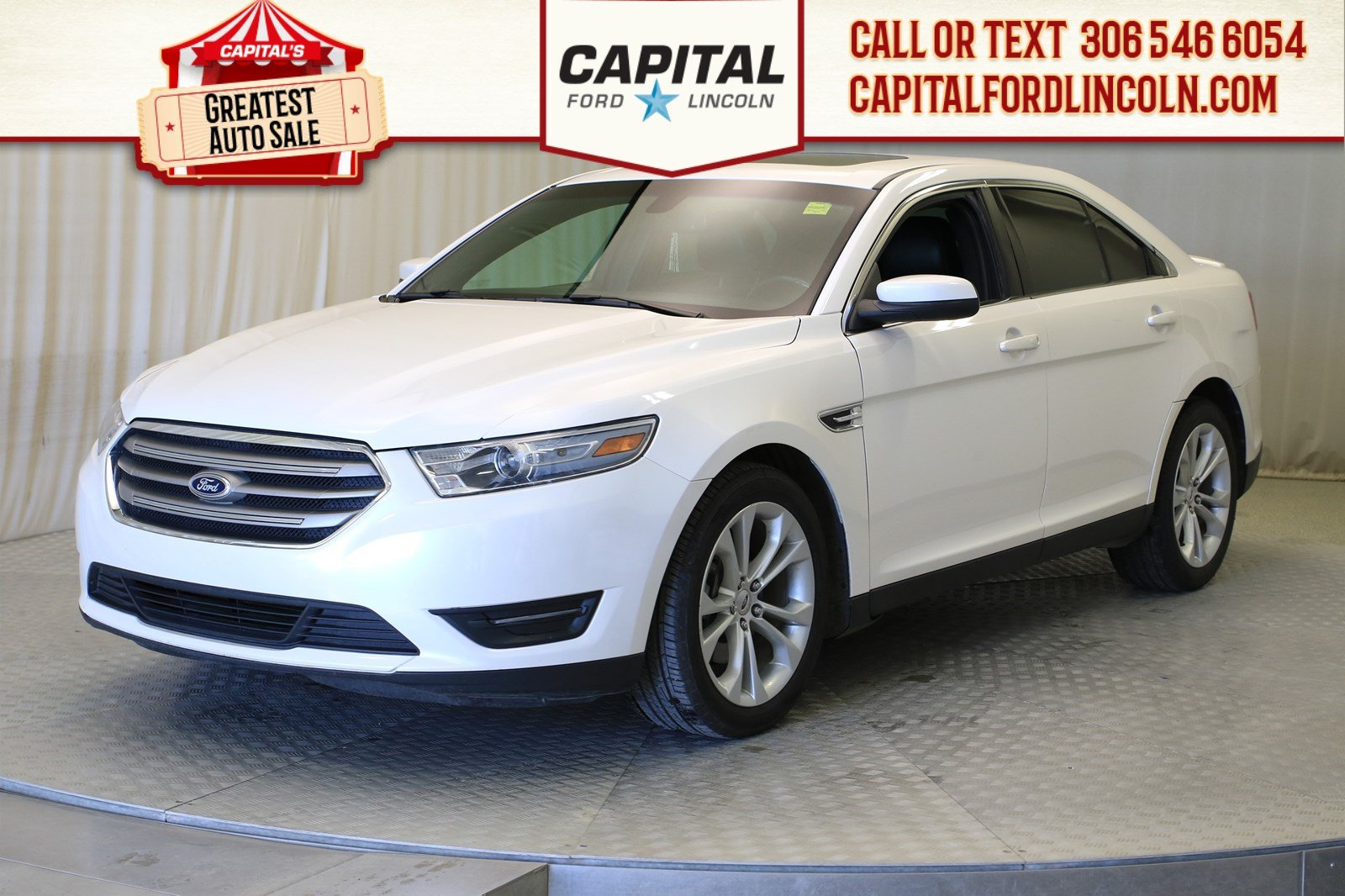 Pre-Owned 2013 Ford Taurus SEL AWD