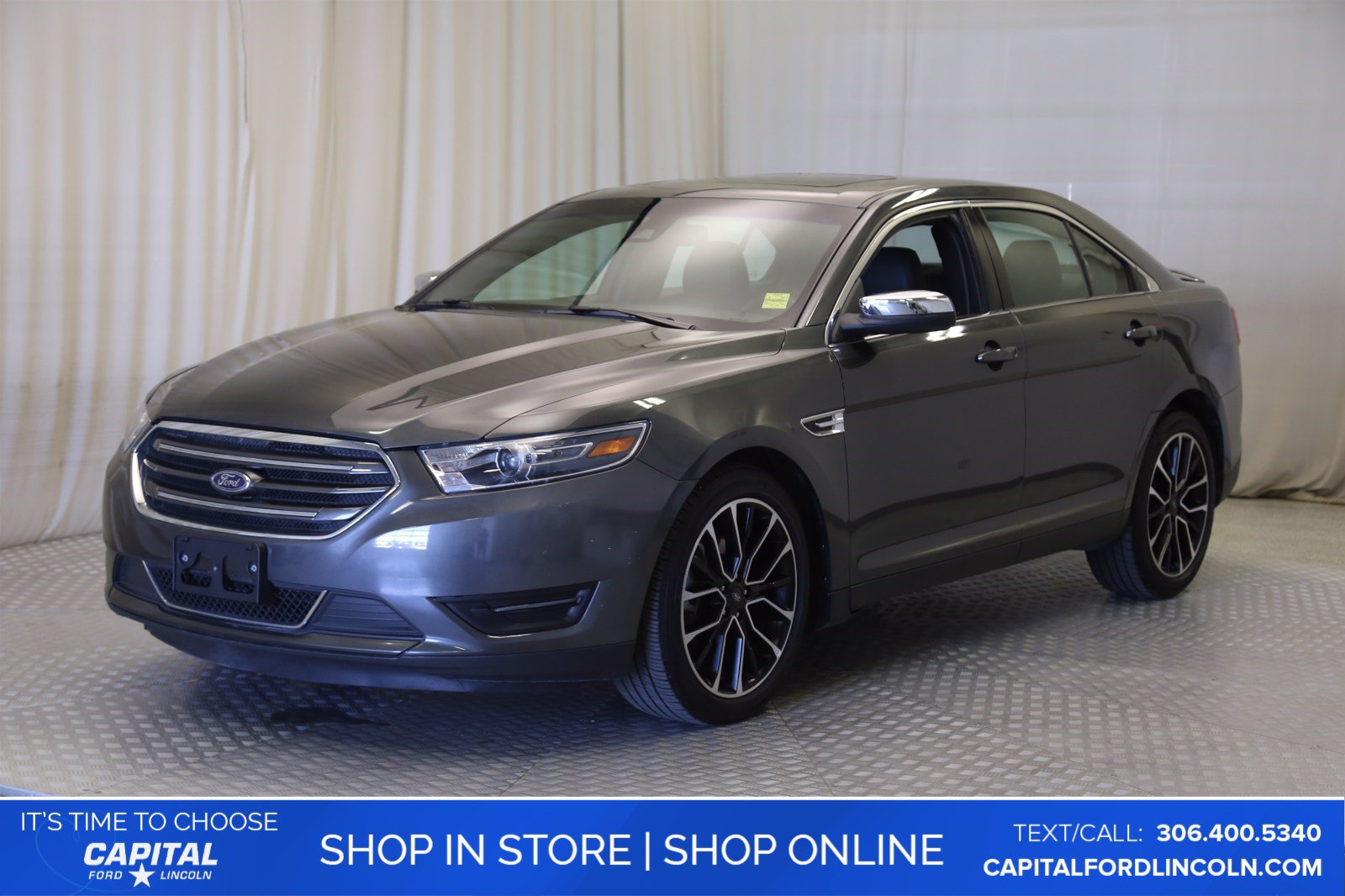 Pre-Owned 2019 Ford Taurus Limited AWD