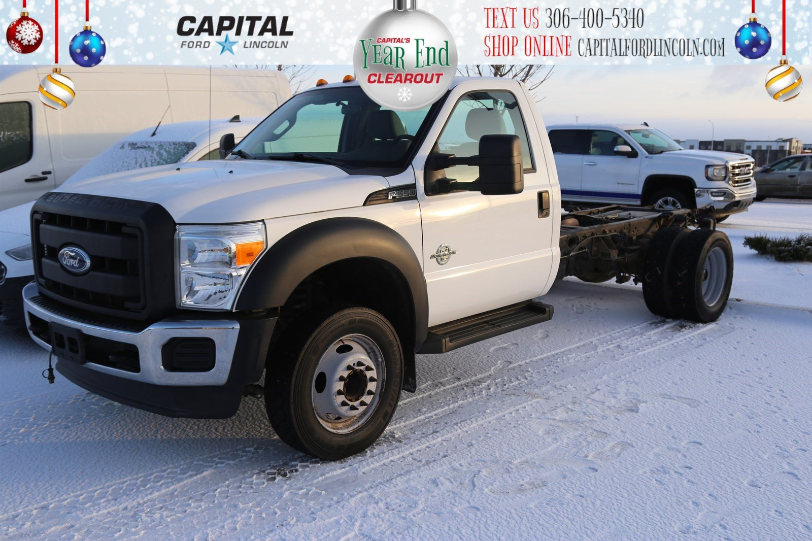 Pre-Owned 2012 Ford Super Duty F-550 DRW Regular Cab Chassis-Cab