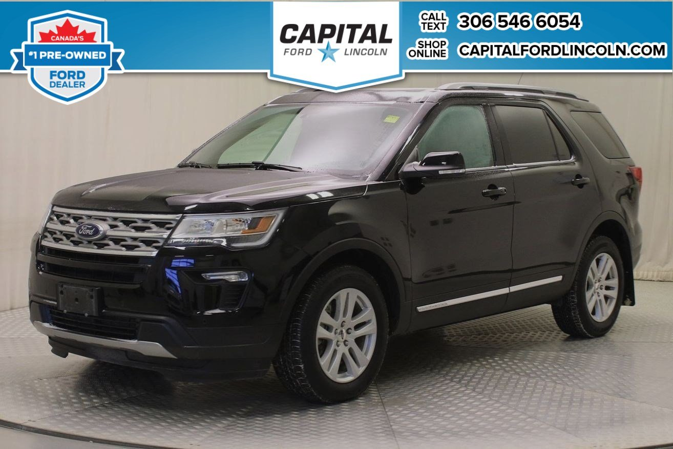 Pre-Owned 2018 Ford Explorer XLT 4WD | Leather |