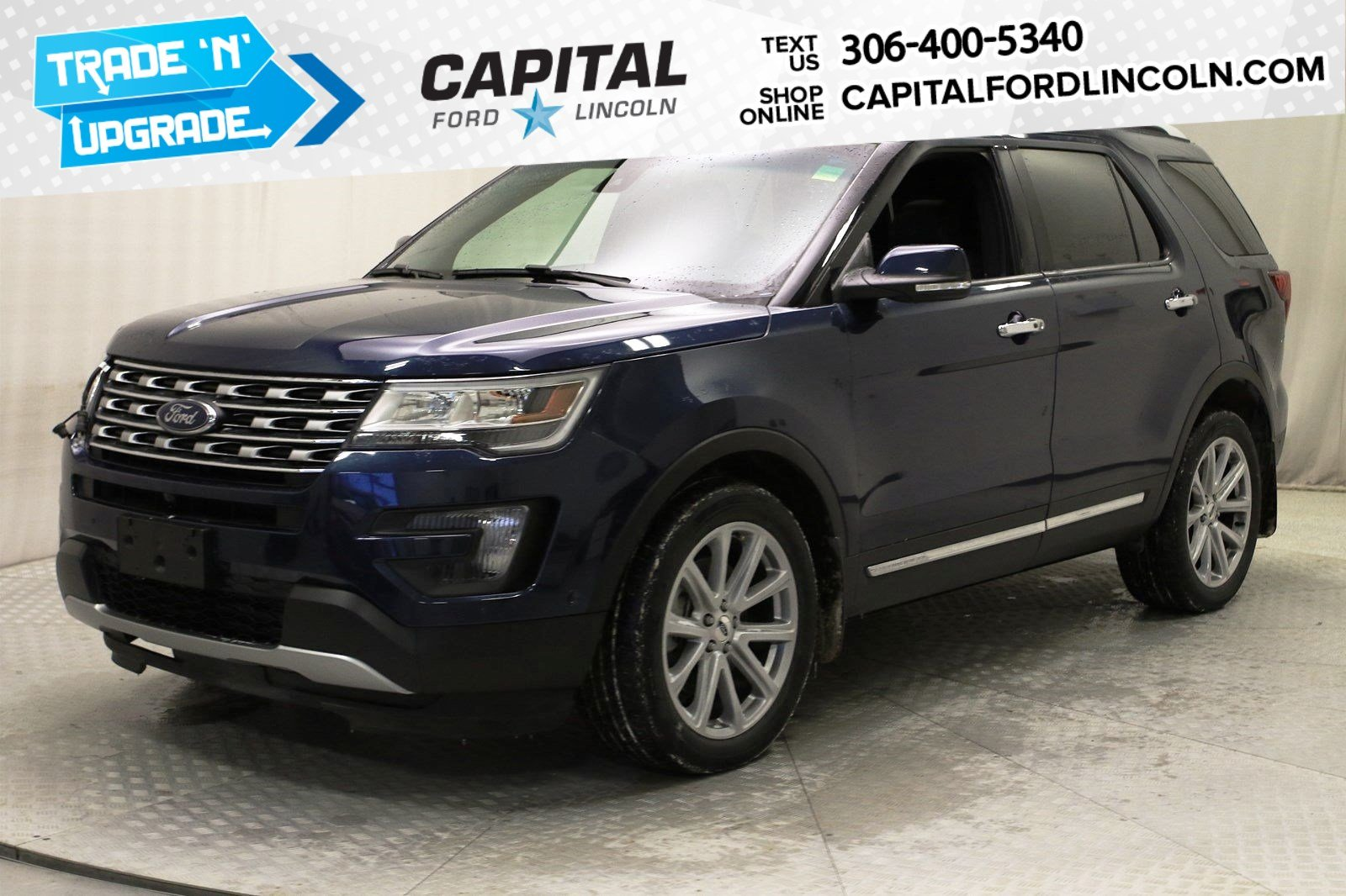 Pre-Owned 2016 Ford Explorer Limited 4WD