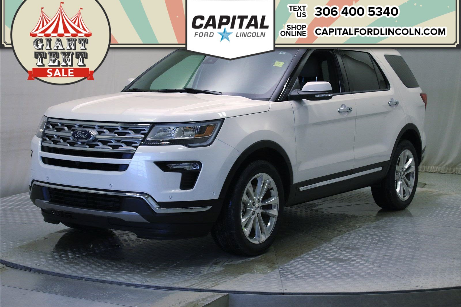Ford Explorer Limited >> New 2019 Ford Explorer Limited Sport Utility In Regina U262