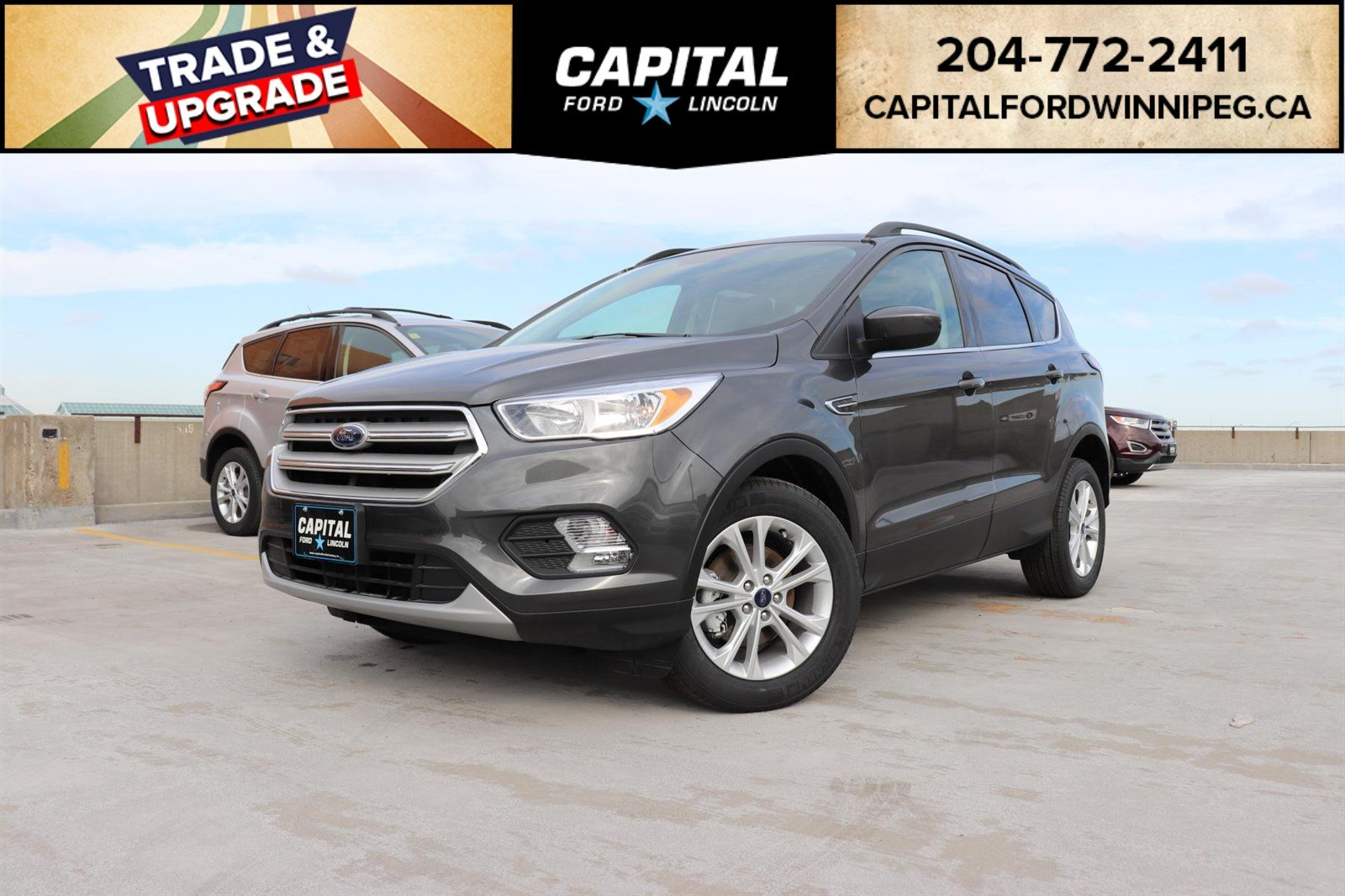 New 2018 Ford Escape SE*FWD*Heated Seats*Reverse Camera*Command Start