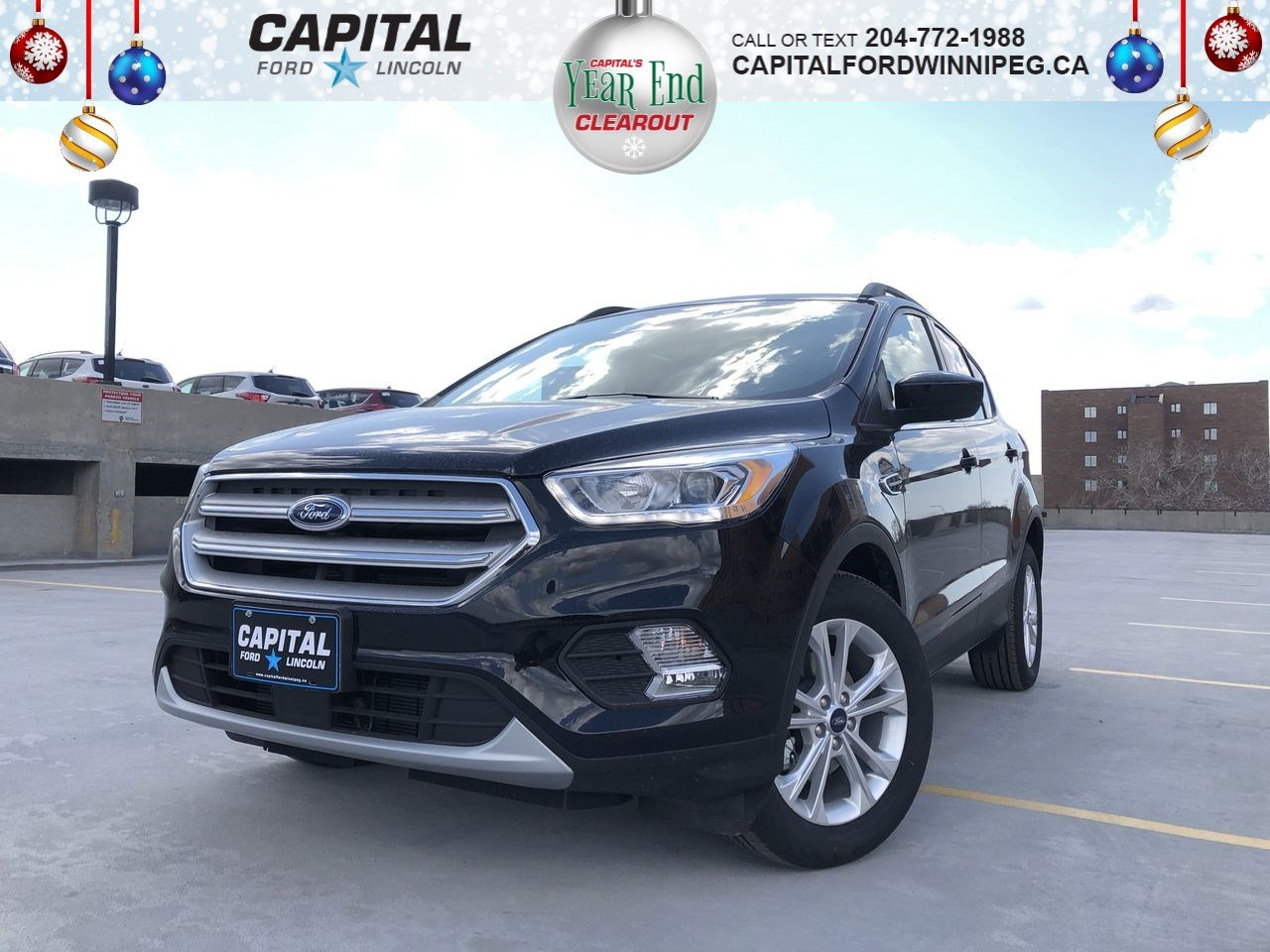 New 2019 Ford Escape *SEL*FWD*Heated Seats*Adaptive Cruise*Rearview Camera*Power Liftgate