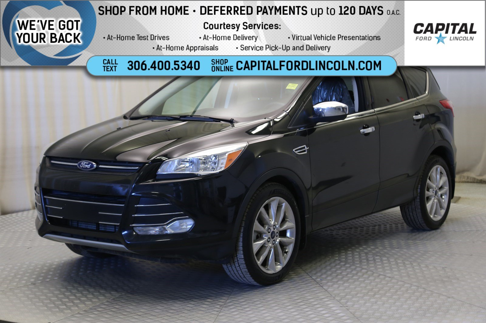 Pre-Owned 2015 Ford Escape SE EcoBoost™ 4WD