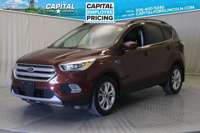 Ford Escape Sunroof >> Pre Owned 2018 Ford Escape Sel 4wd Leather Sunroof Navigation