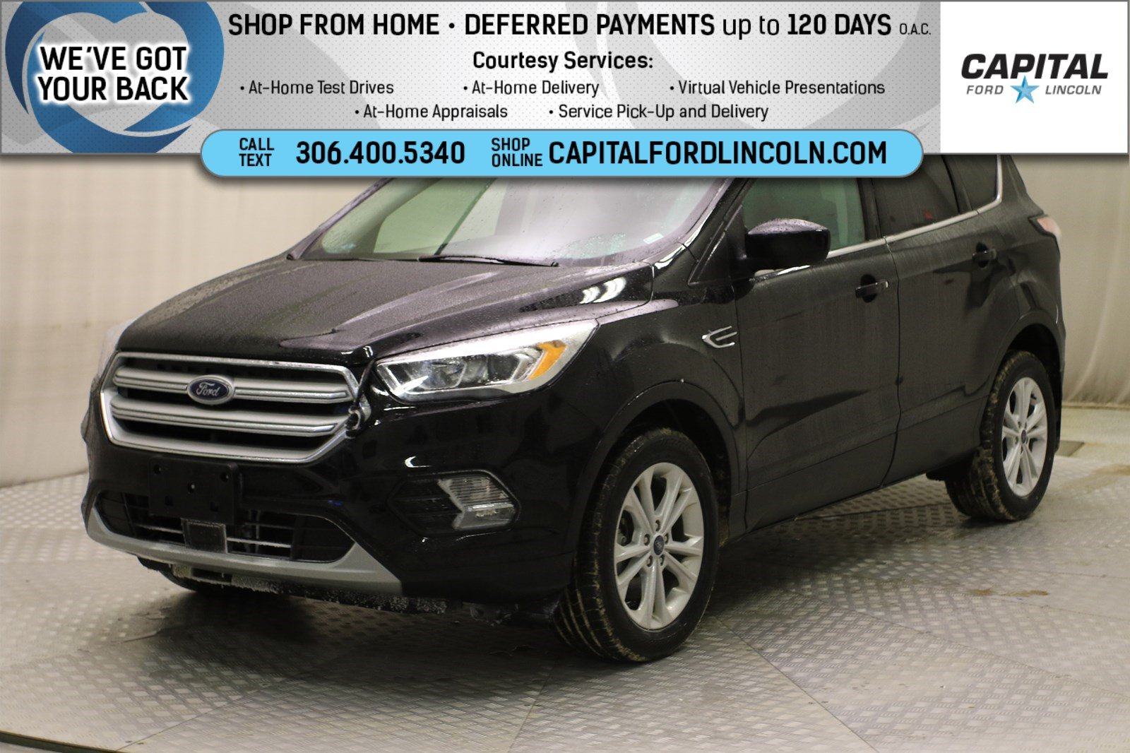 Pre-Owned 2018 Ford Escape SEL EcoBoost™ 4WD
