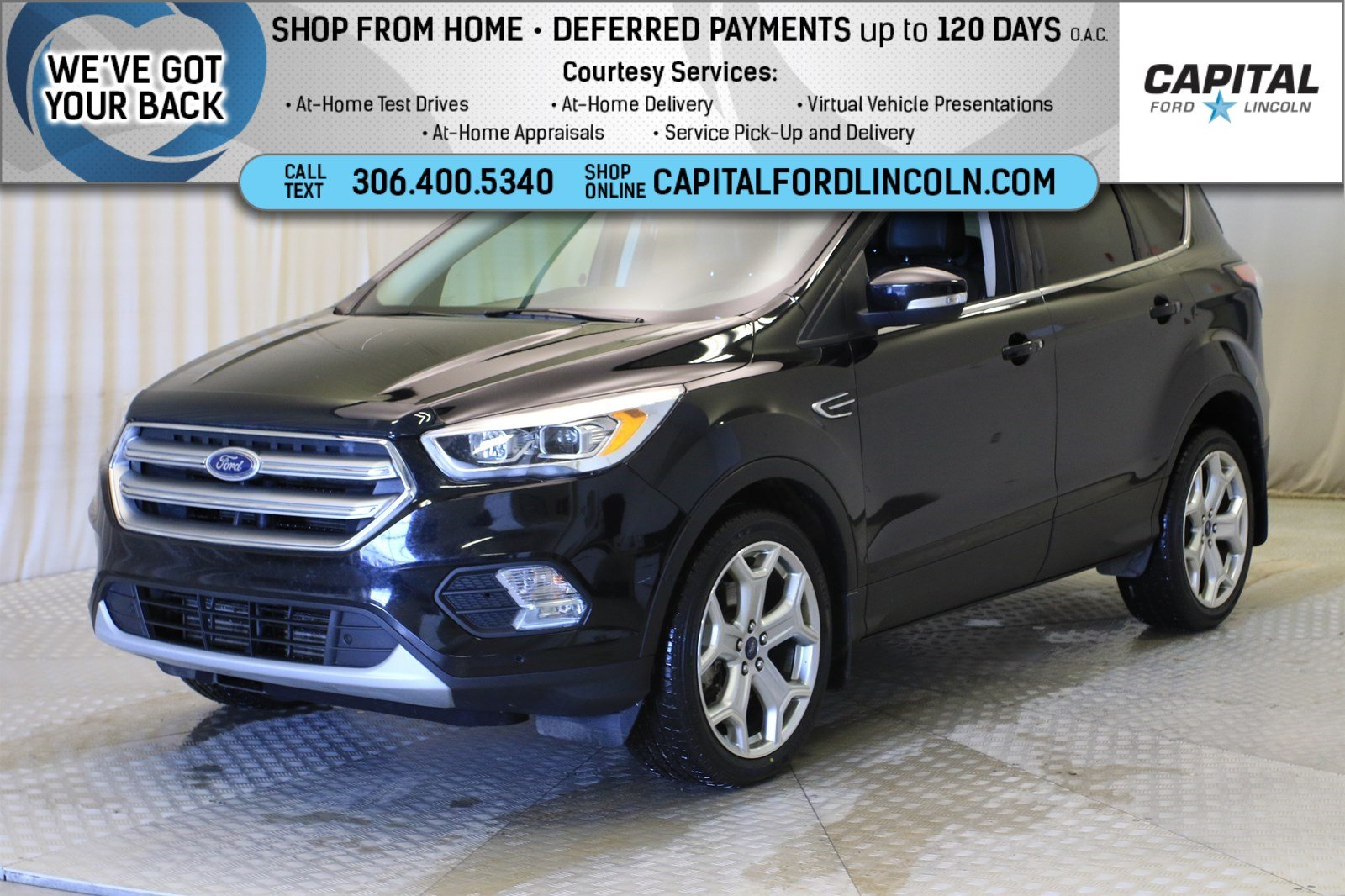 Pre-Owned 2017 Ford Escape Titanium EcoBoost™ 4WD