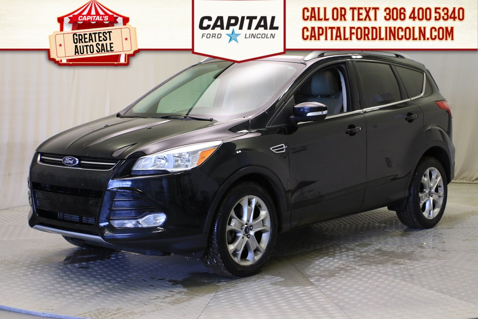 Pre-Owned 2014 Ford Escape Titanium EcoBoost™ 4WD