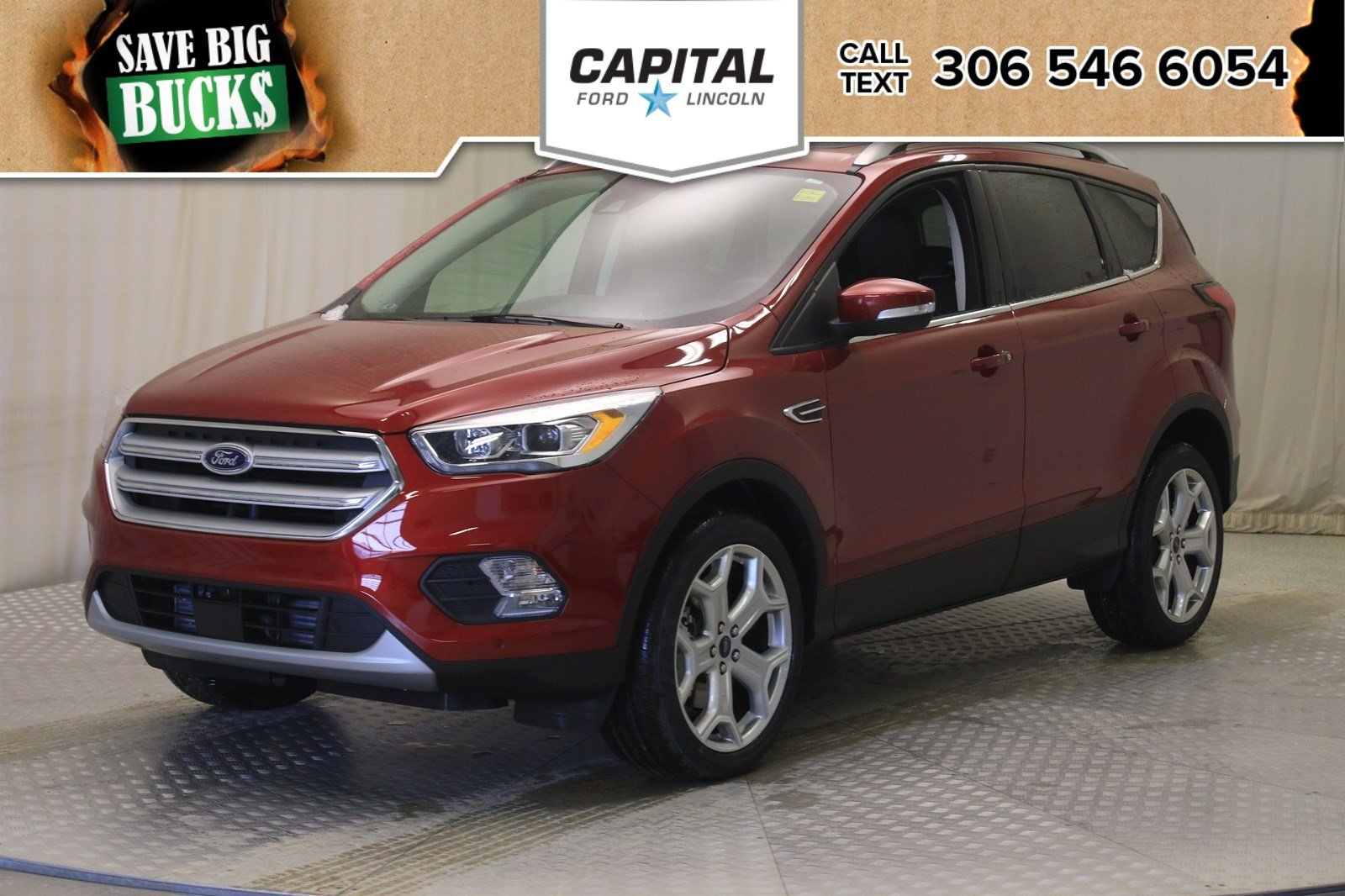Ford Escape Titanium >> New 2019 Ford Escape Titanium Sport Utility In Regina U317