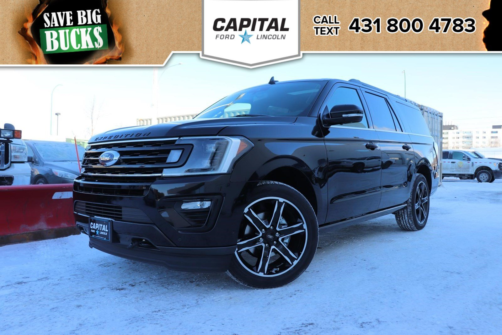 New 2019 Ford Expedition Stealth Limited Edition Max*Navigation*Moonroof
