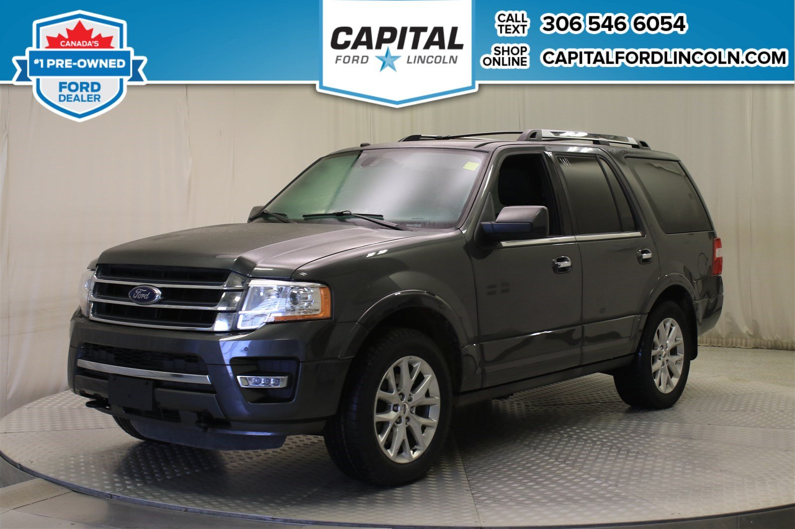 Pre Owned 2017 Ford Expedition Limited 4wd