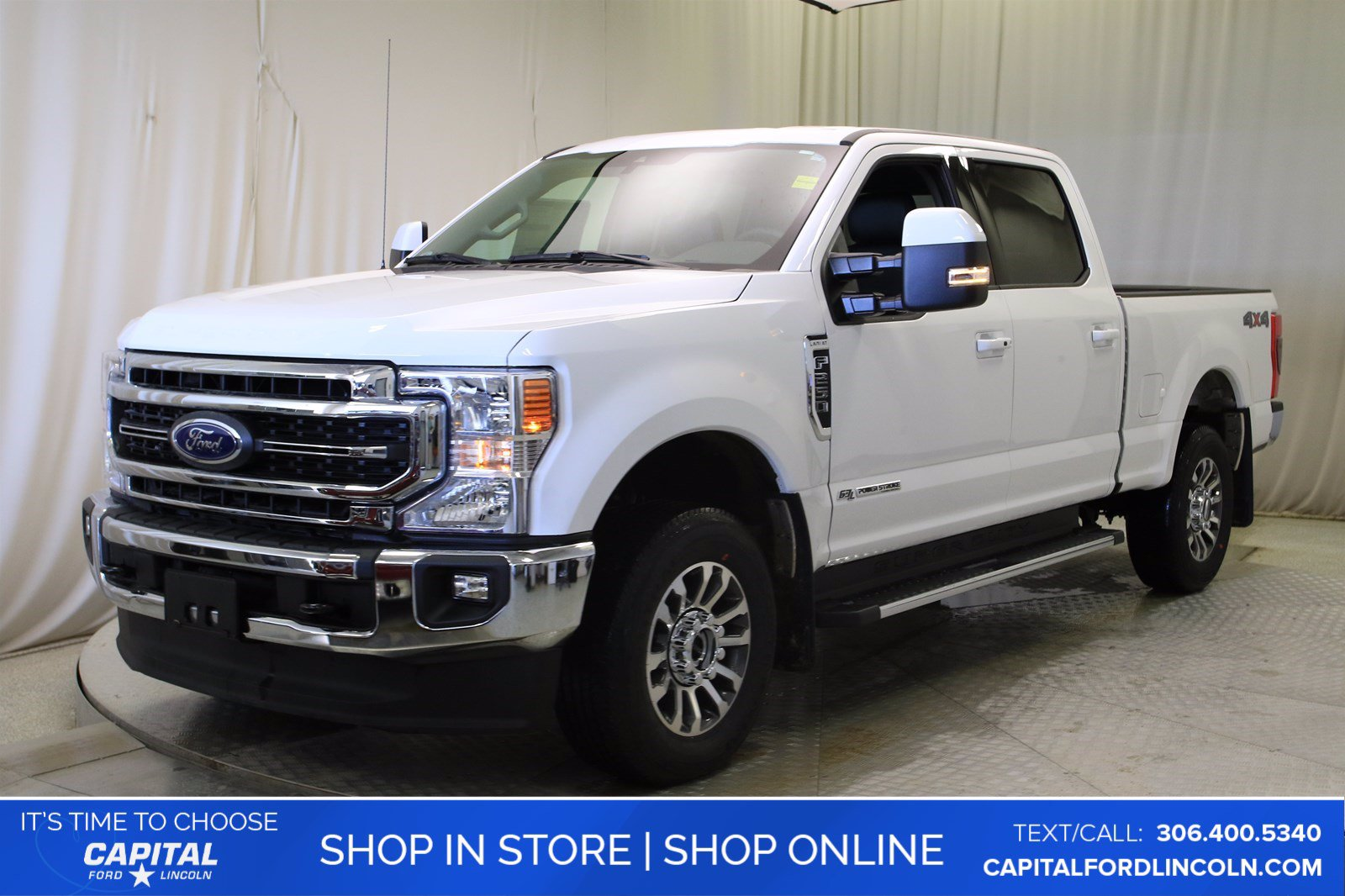New 2020 Ford Super Duty F-250 SRW LARIAT