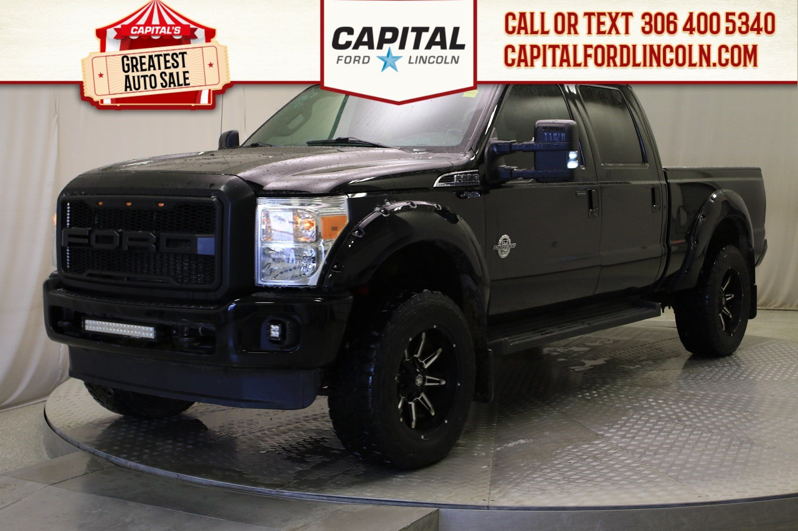 Pre-Owned 2016 Ford Super Duty F-250 SRW Lariat | Diesel | Lifted |
