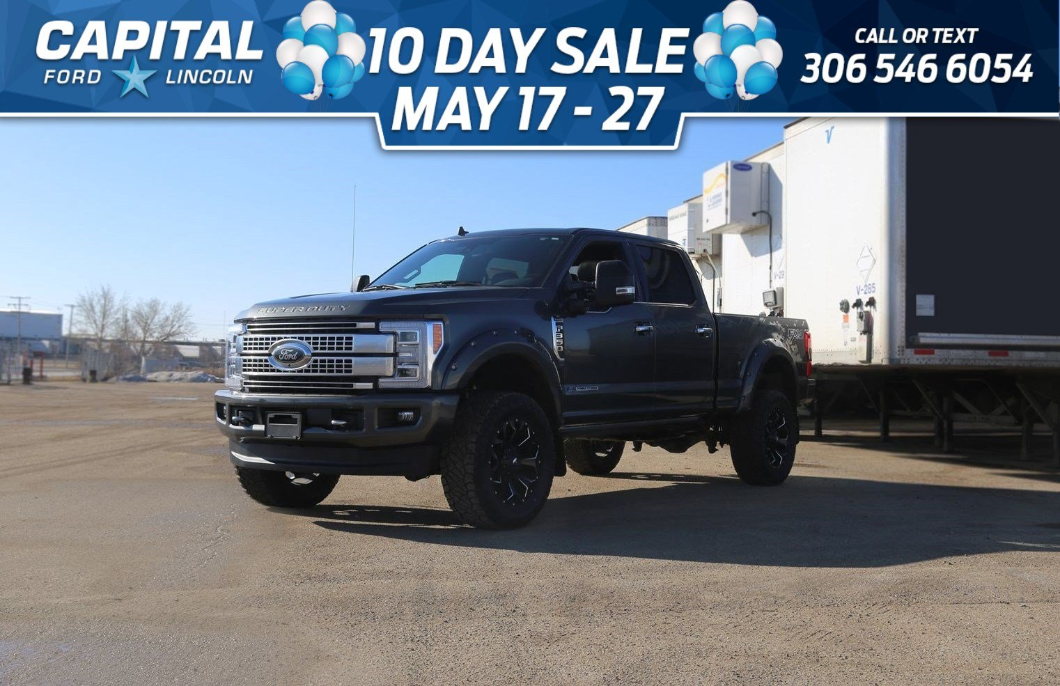 New 2019 Ford F-350 Diesel Platinum