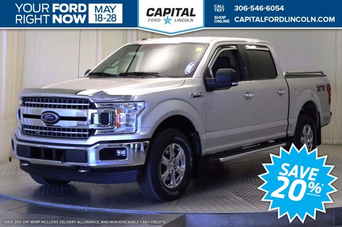 New 2018 Ford F-150 XLT *CAPITAL CONCEPTS BUNDLE TRUCK*