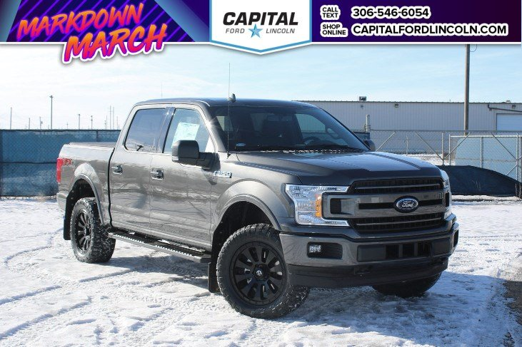 New 2018 Ford F-150 XLT *CAPITAL CONCEPTS*