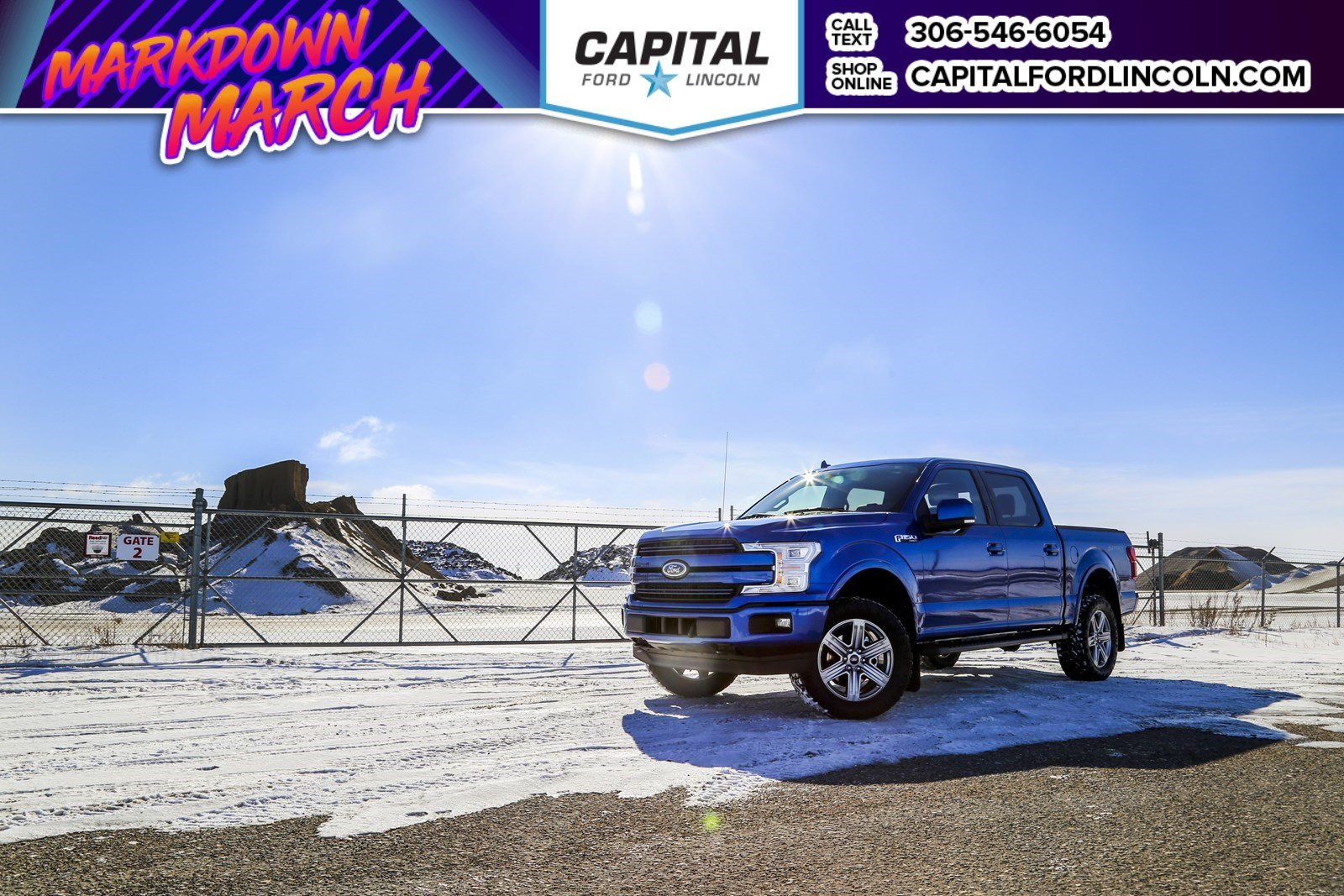 New 2018 Ford F-150 Lariat *CAPITAL CONCEPTS*