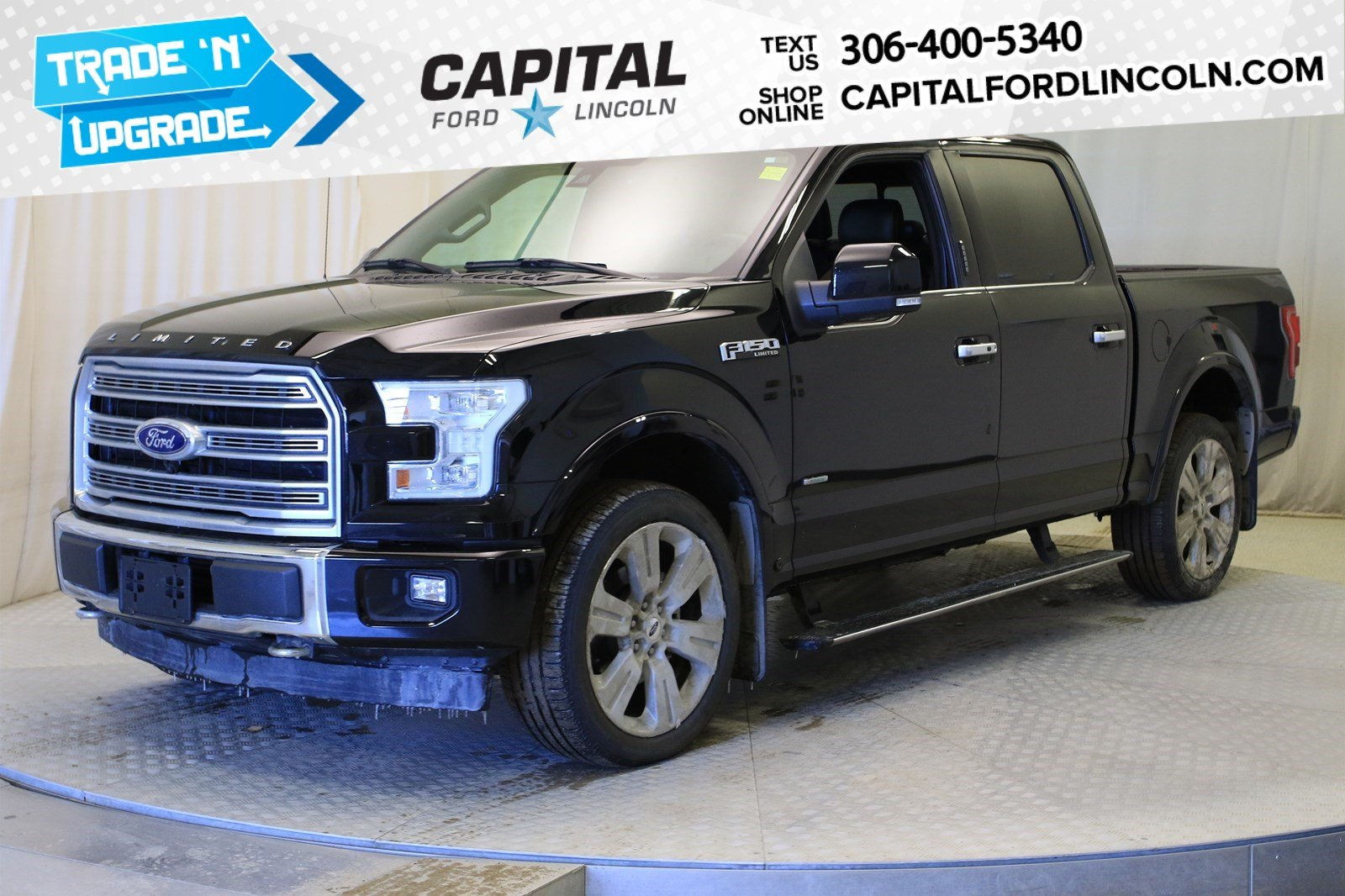 Pre-Owned 2017 Ford F-150 Limited | Local Trade |