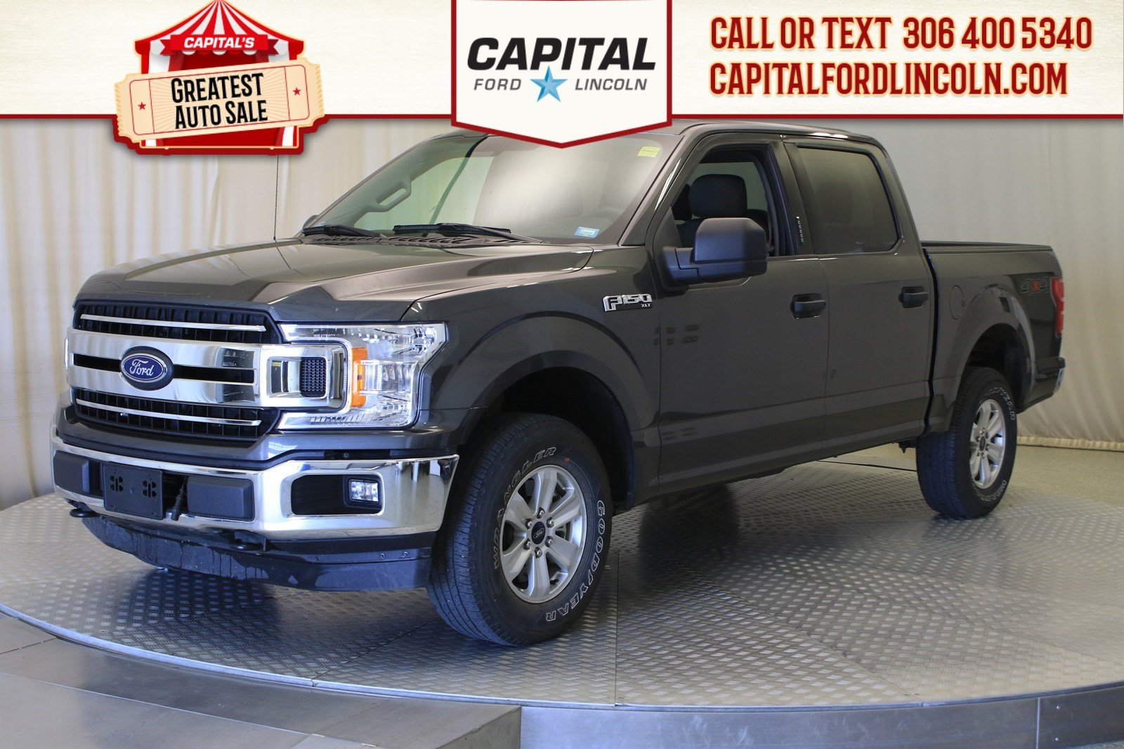 Pre-Owned 2018 Ford F-150 XLT | 3.5L Ecoboost |