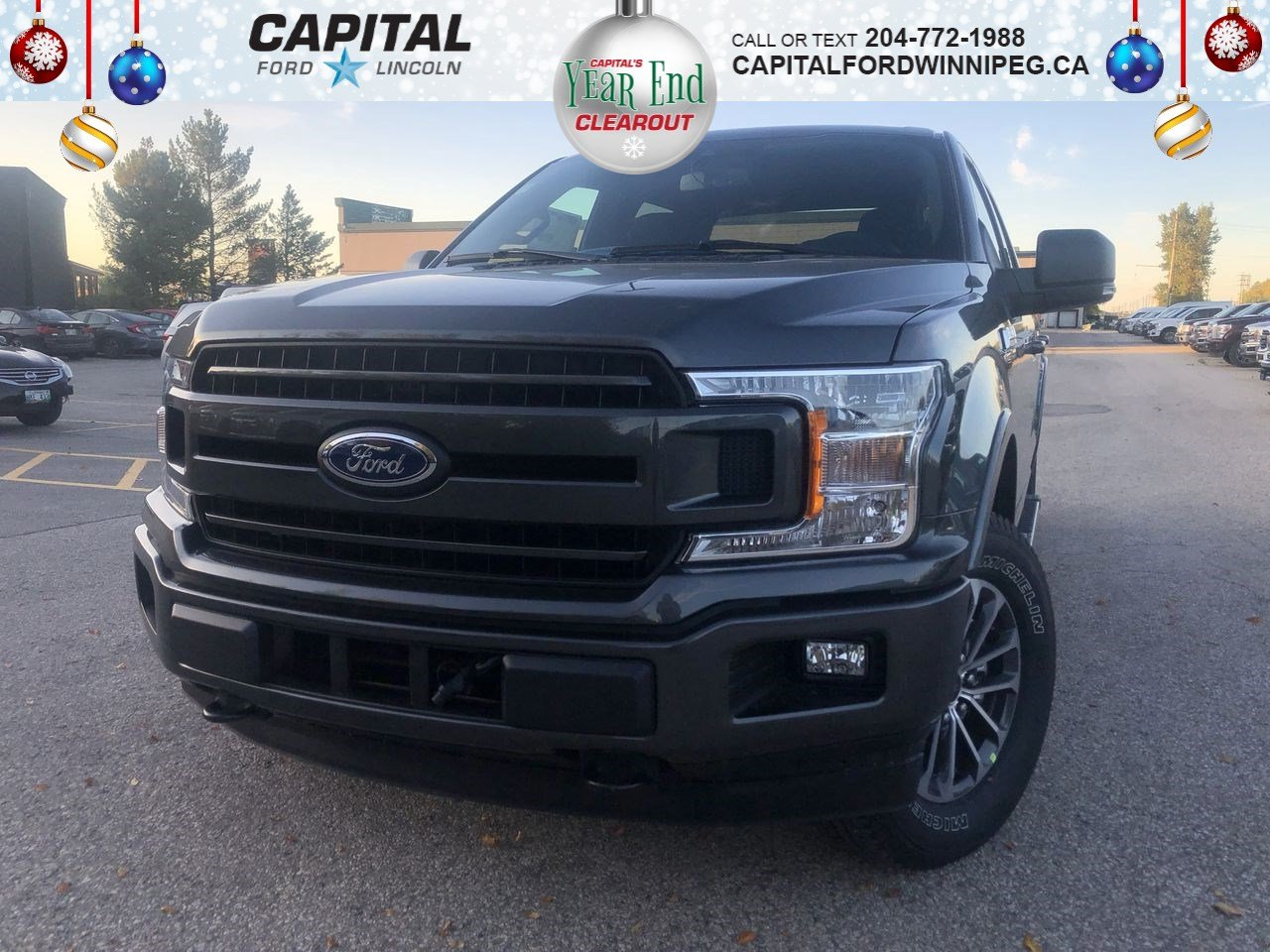 New 2019 Ford F-150 XLT*2.7L*Sport Package*Rearview Camera