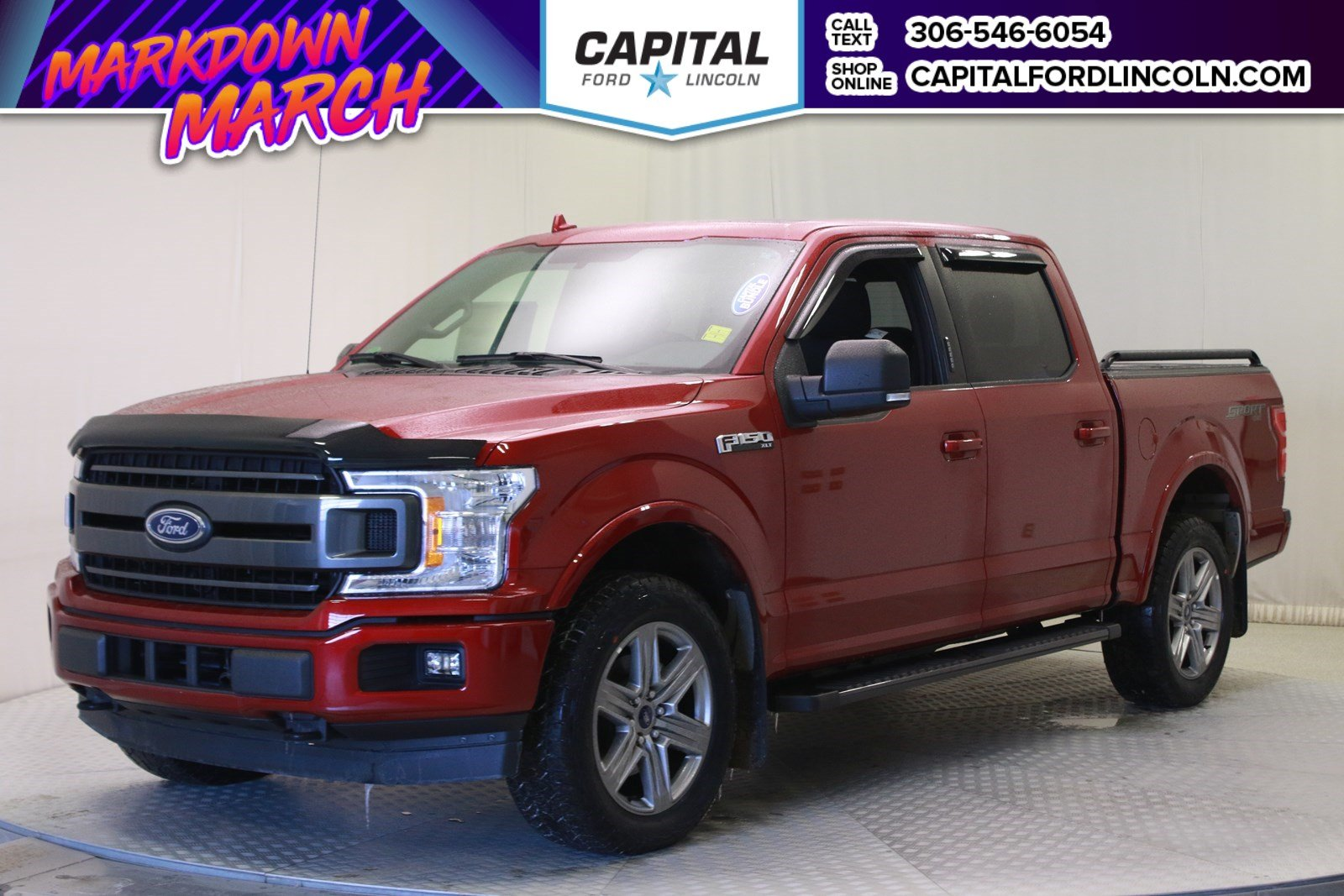 New 2018 Ford F-150 *CAPITAL CONCEPTS - BUNDLE TRUCK*