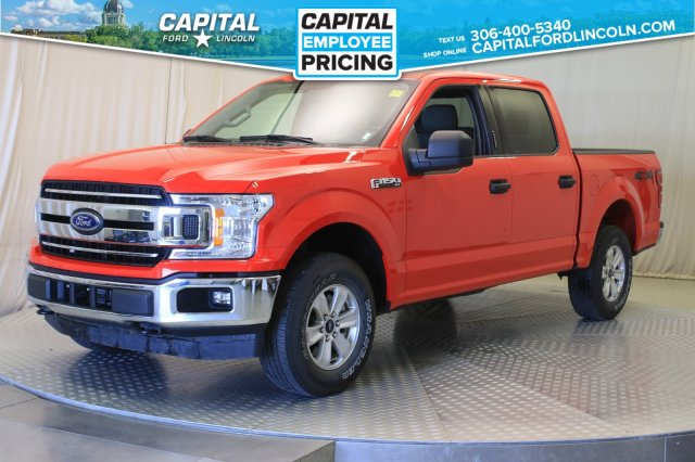 Pre-Owned 2018 Ford F-150 SuperCrew EcoBoost™