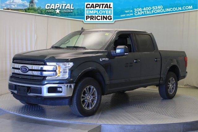 Pre-Owned 2018 Ford F-150 Lariat Supercrew | Leather | Sunroof |