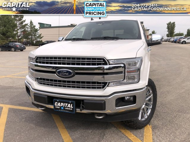 New 2019 Ford F-150 LARIAT*Diesel*Moonroof*Chrome Pkg*Level Kit 4WD Stock:  P2597