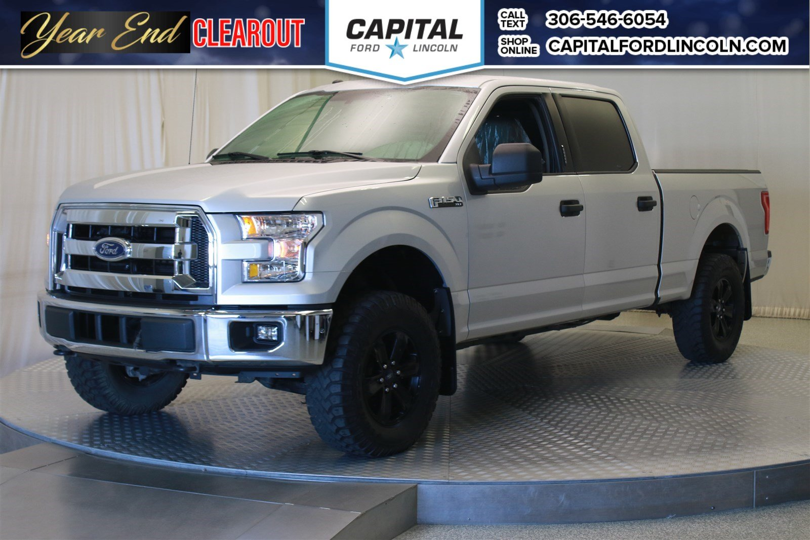 Pre Owned 2016 Ford F 150 Xlt Supercrew Lift Truck