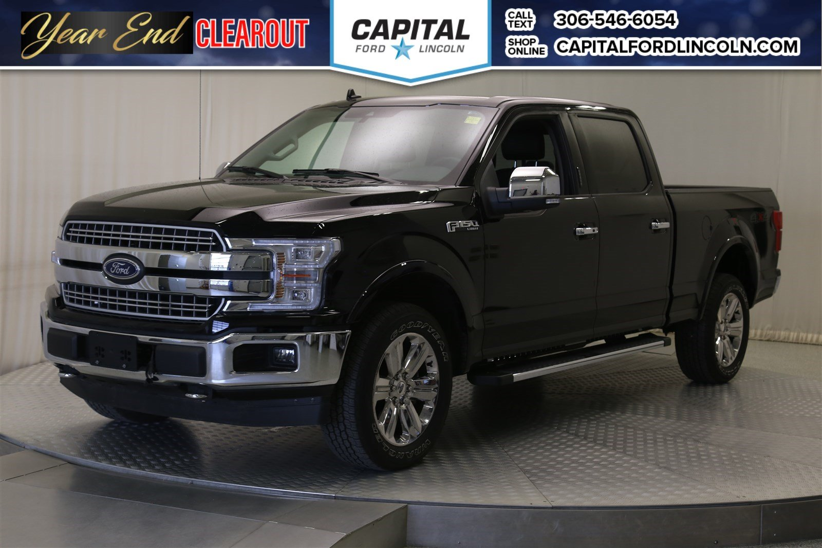 Pre Owned 2018 Ford F 150 Lariat Leather Sunroof