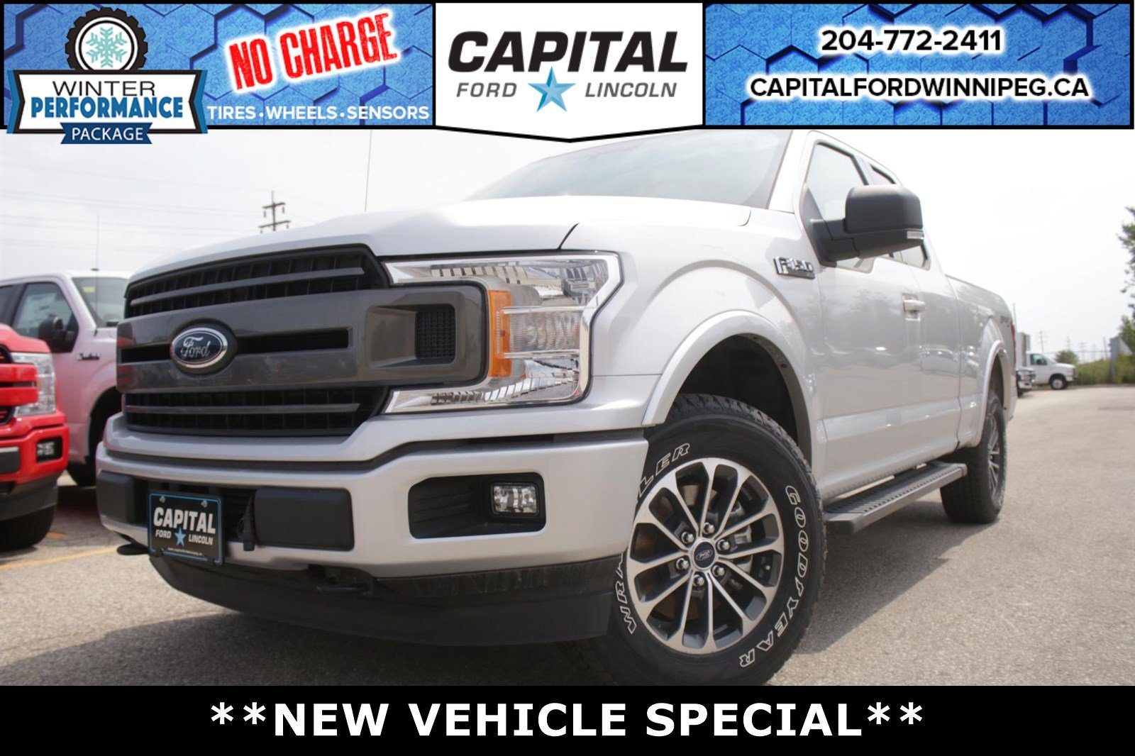 New 2018 ford f 150 xlt supercab year end sale 3 5l ecoboost
