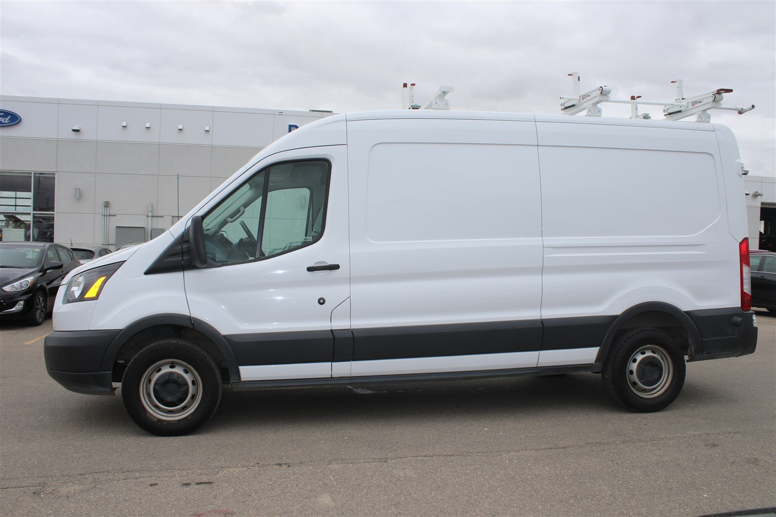 Pre owned 2016 ford transit cargo van