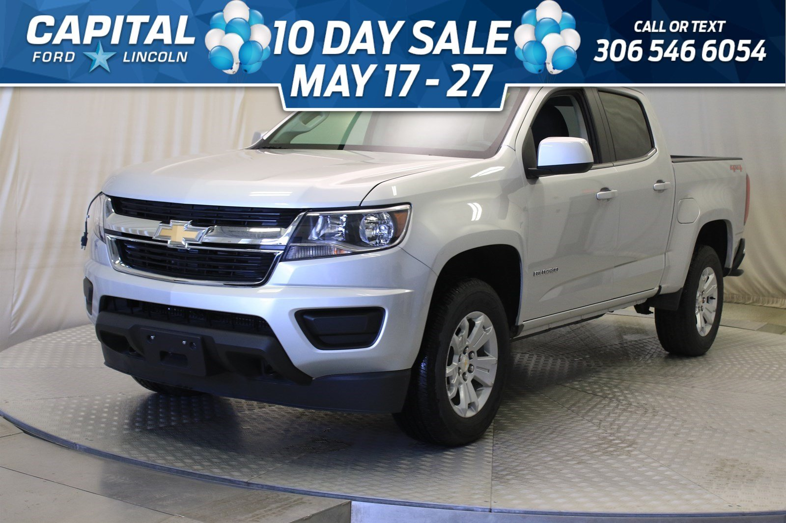 Pre-Owned 2019 Chevrolet Colorado Crew Cab 4WD LT **New Arrival**