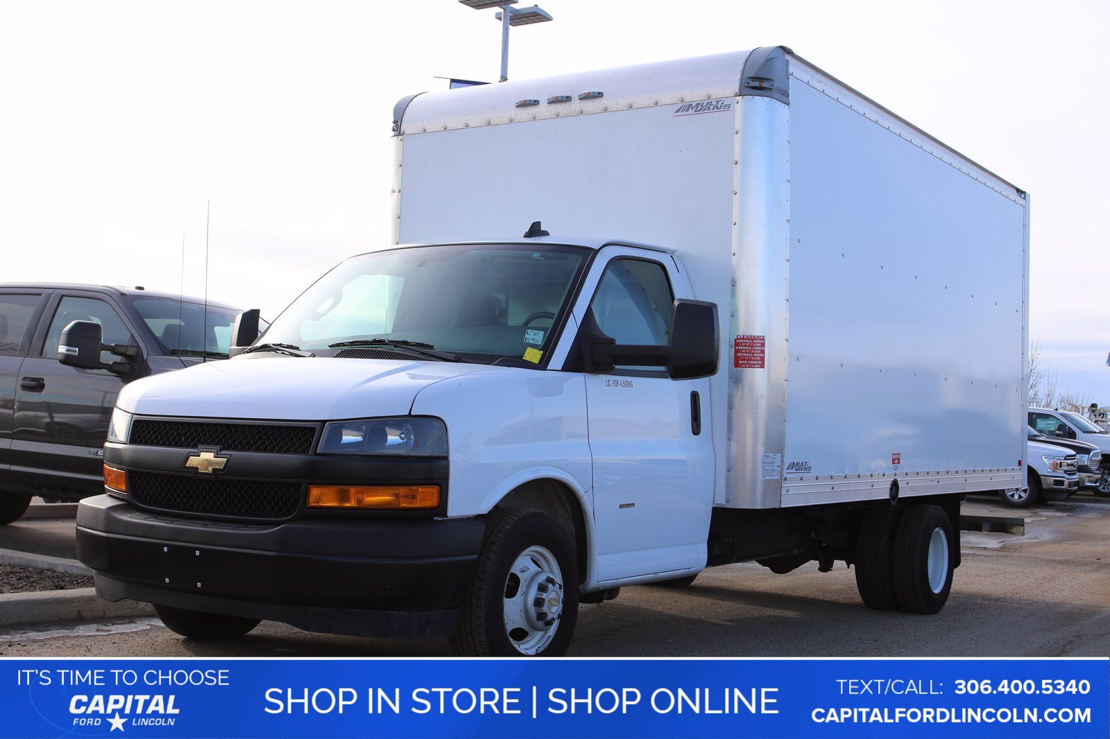 Pre-Owned 2019 Chevrolet Express Commercial Cutaway