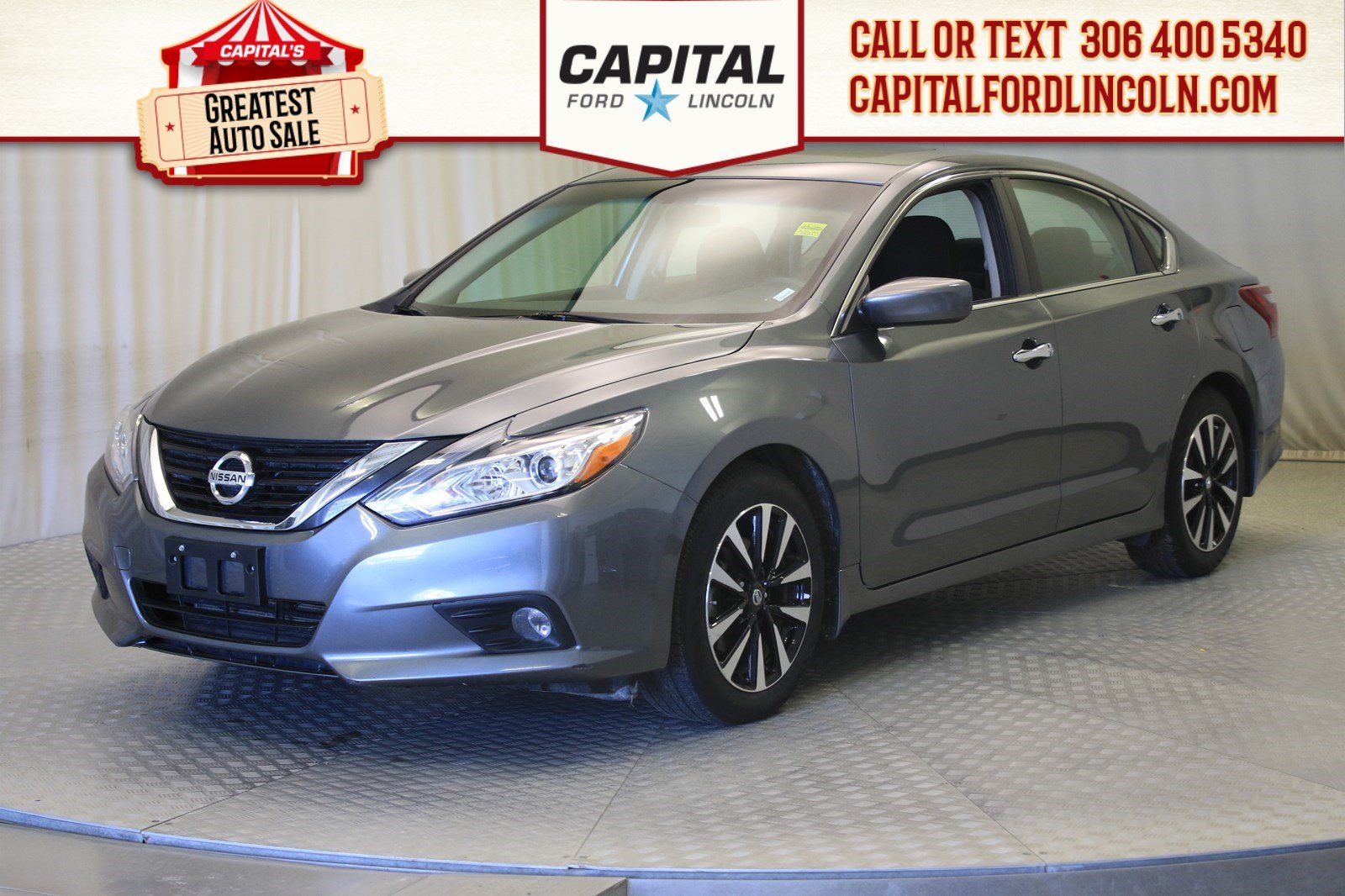 Pre-Owned 2018 Nissan Altima SV | Sunroof |