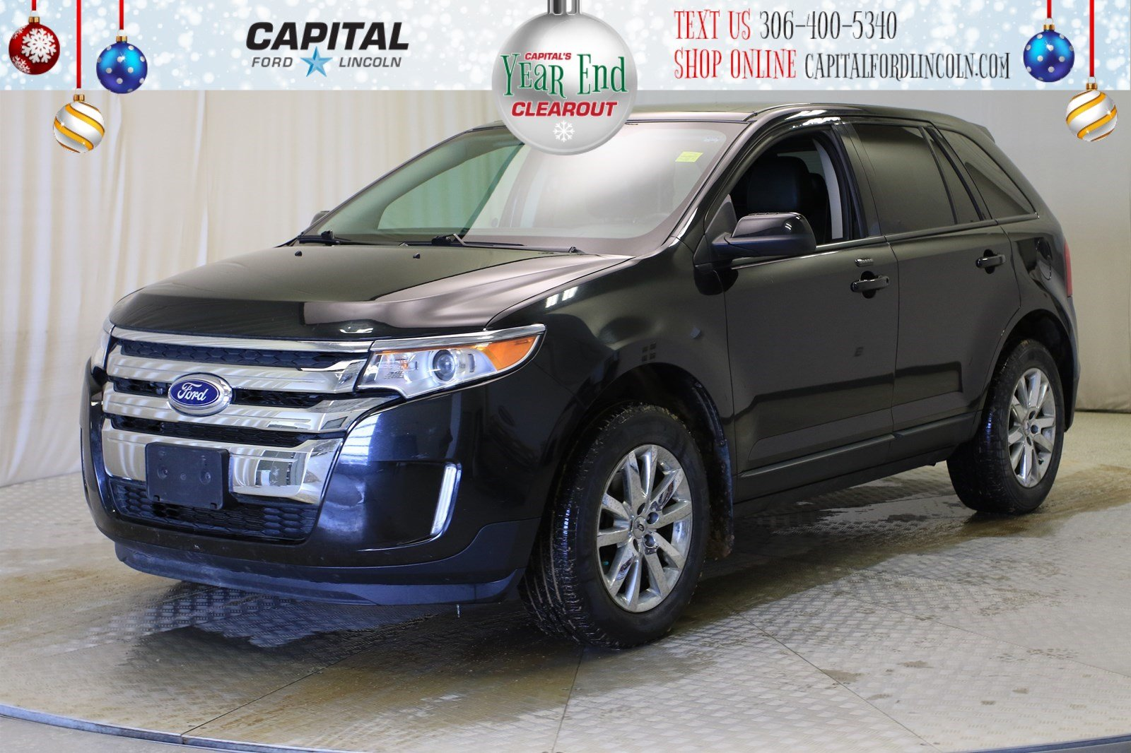 Pre-Owned 2013 Ford Edge SEL AWD | Leather | Sunroof | Navigation |