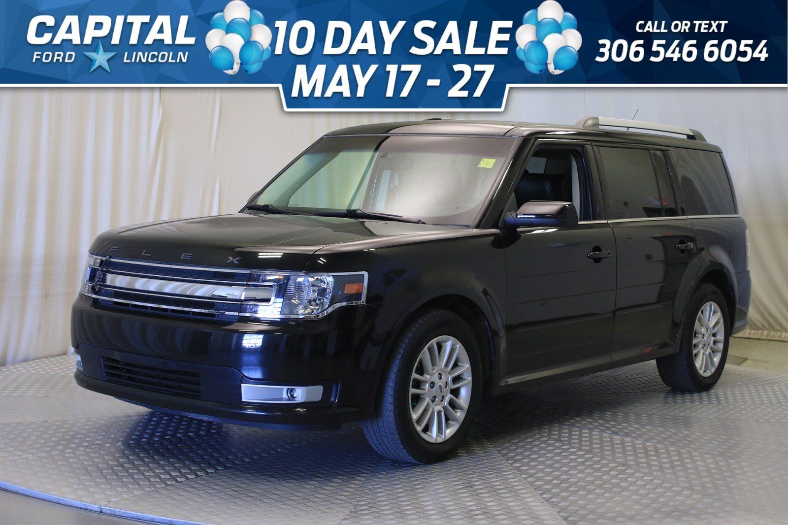 Pre-Owned 2013 Ford Flex SEL AWD | Leather | Sunroof | Navigation |