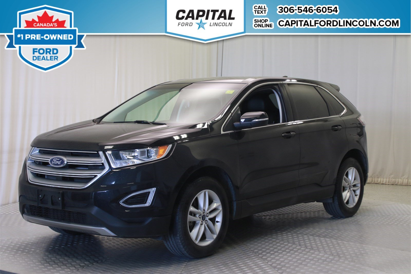 Pre-Owned 2016 Ford Edge SEL * Leather * AWD *