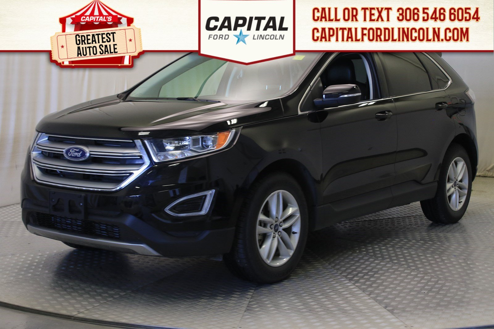 Pre-Owned 2018 Ford Edge SEL AWD | Leather | Navigation | Heated Steering Wheel |