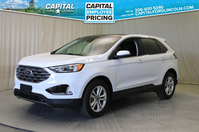 Pre Owned 2019 Ford Edge Sel Awd Sunroof With Navigation Awd Stock 89558a