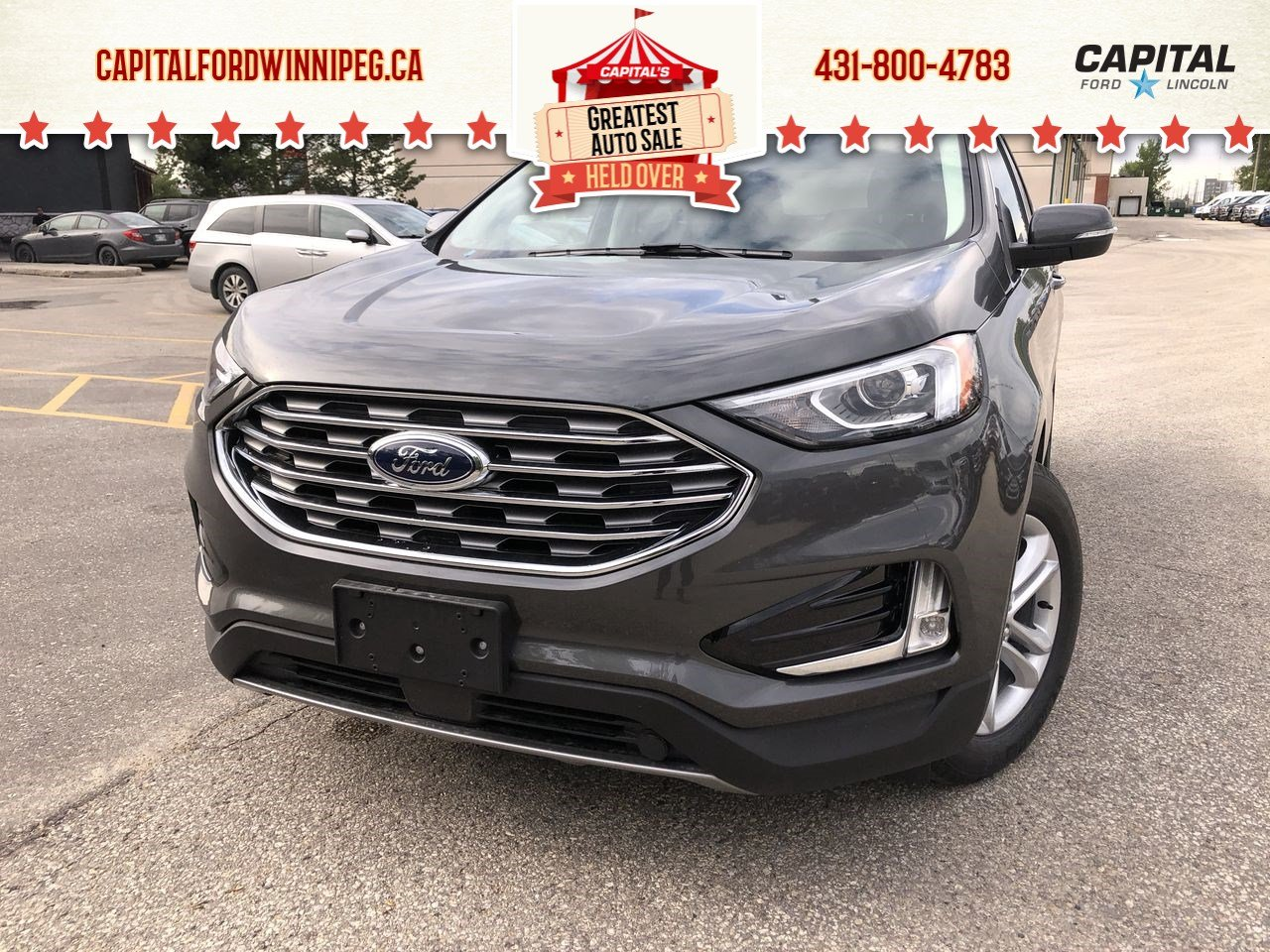 New 2019 Ford Edge SEL*AWD*Navigation*Wireless Charging*Heated Seats