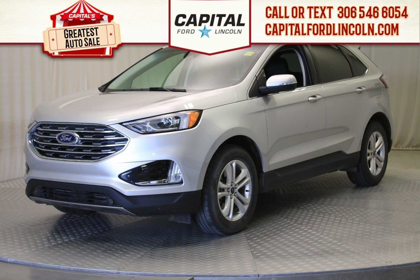 Pre-Owned 2019 Ford Edge SEL AWD