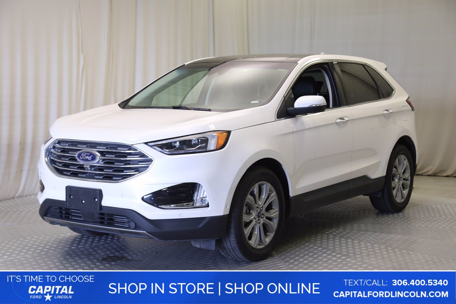 Pre-Owned 2019 Ford Edge Titanium AWD **New Arrival**
