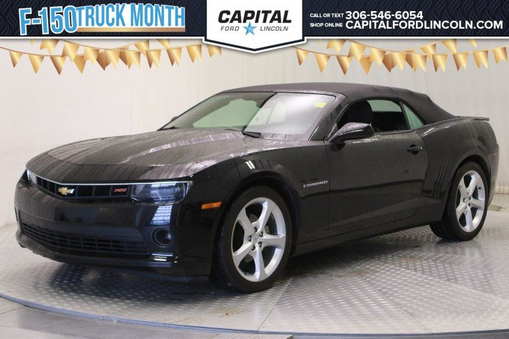 Pre-Owned 2015 Chevrolet Camaro LT Convertible